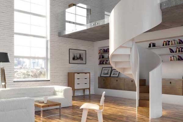 Madera vidrio y cemento materiales innovadores para escaleras de dise o forestal maderero - Materiales para escaleras ...