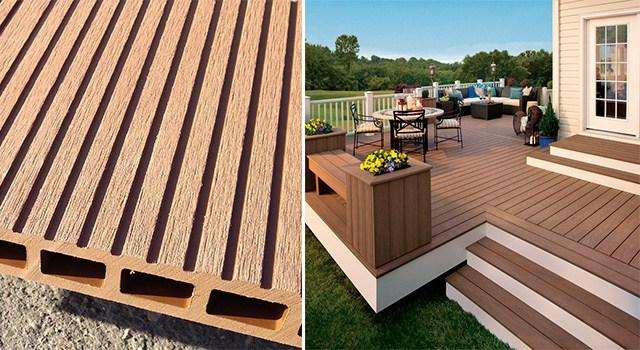 Madera vs deck composite pisos de exterior forestal for Materiales para pisos exteriores