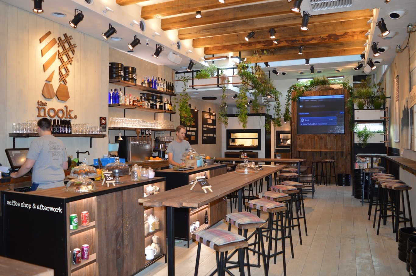 Estadio de f tbol australiano sostenible y con madera for Bar con madera reciclada