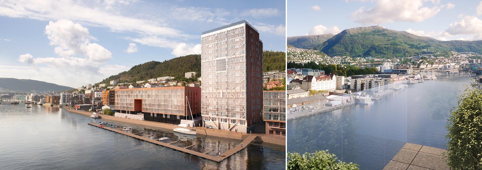 Treet: El Edificio en entramado de madera más alto del mundo ...