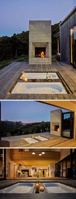 Casa rural en nueva zelanda con un dise o minimalista al for Casa rural minimalista