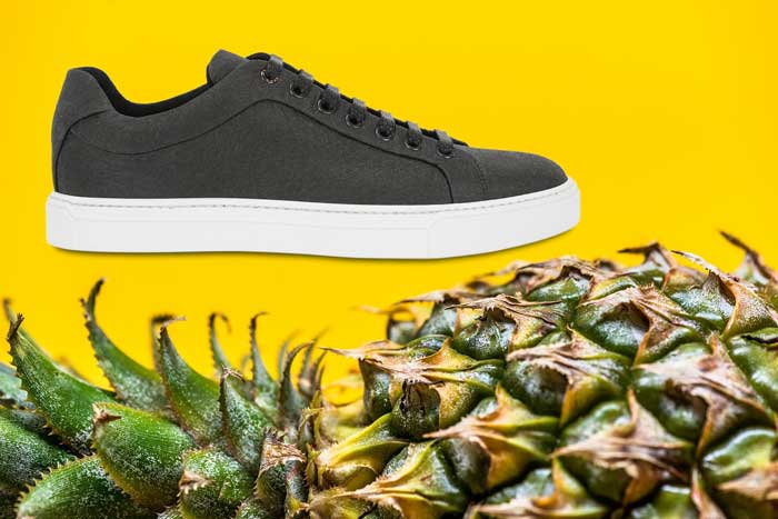 4ea1bb24 Recientemente, la marca de moda Hugo Boss lanzó una nueva gama de zapatos  veganos para hombre, hechos de material natural que se compone de fibras de  hoja ...