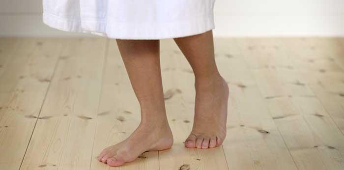 El piso de madera es bueno para la salud.